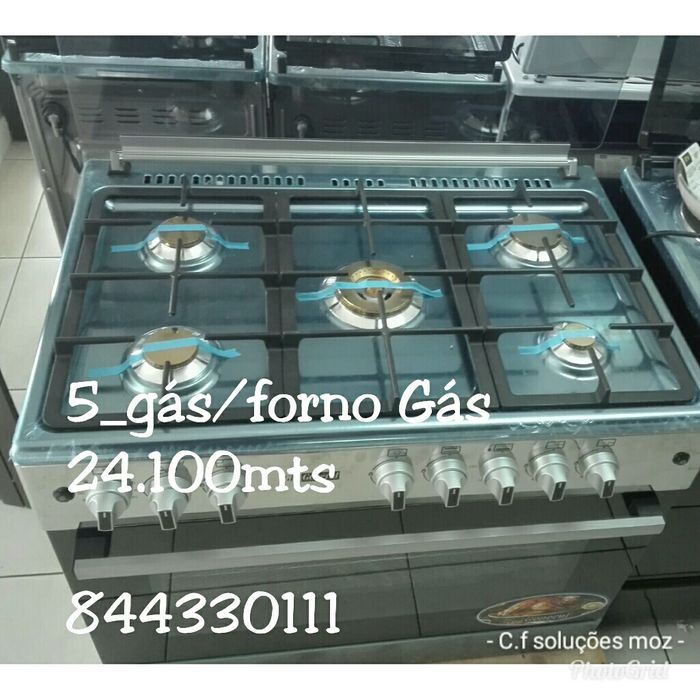 Fogão(60x90) 5 gás forno Gás. Gl_general. Disponível