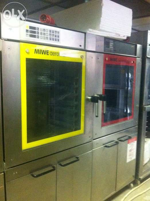 cuptor miwe patiserie paine 8 tavi cu suport inox germania