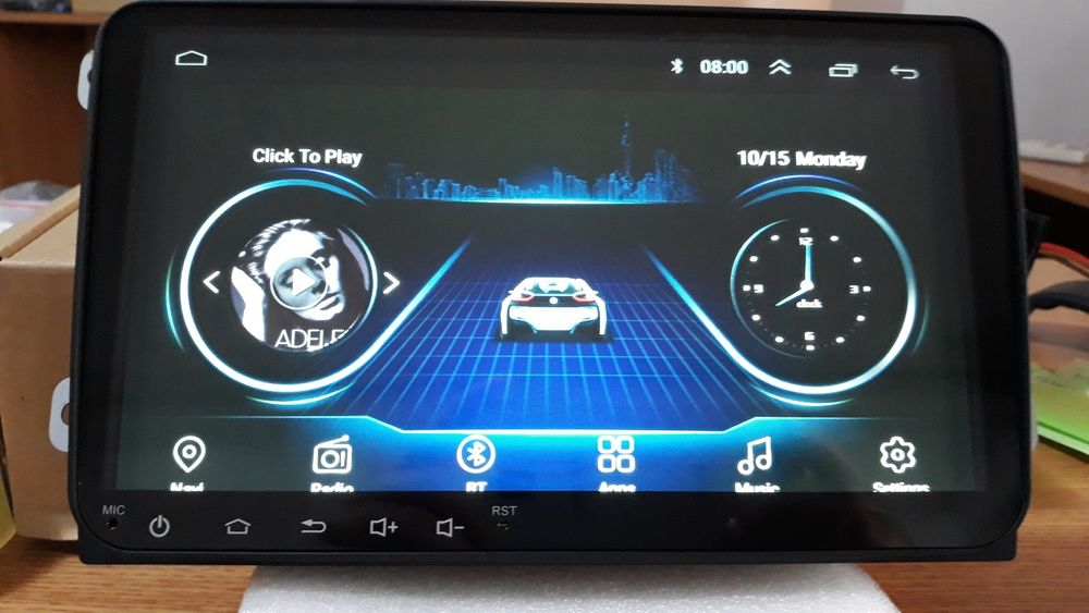 Navigatie Android VW Passat Golf Jetta Touran Tiguan VAG NAV PRO