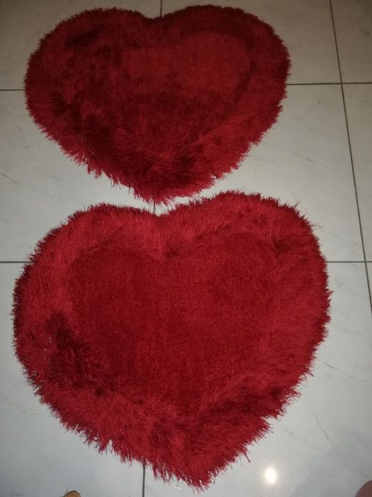 Tapetes de corações