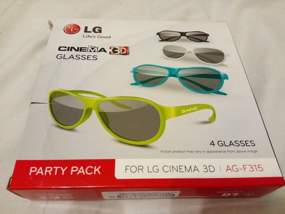 Ocelari Pasivi 3D LG Party Pack