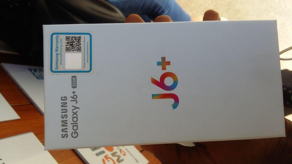 Samsung J6 plus Duos (J6+) novo
