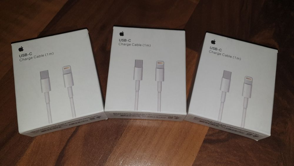 Cablu date/incarcare original Apple iPhone iPad lightning-type c 8,X..