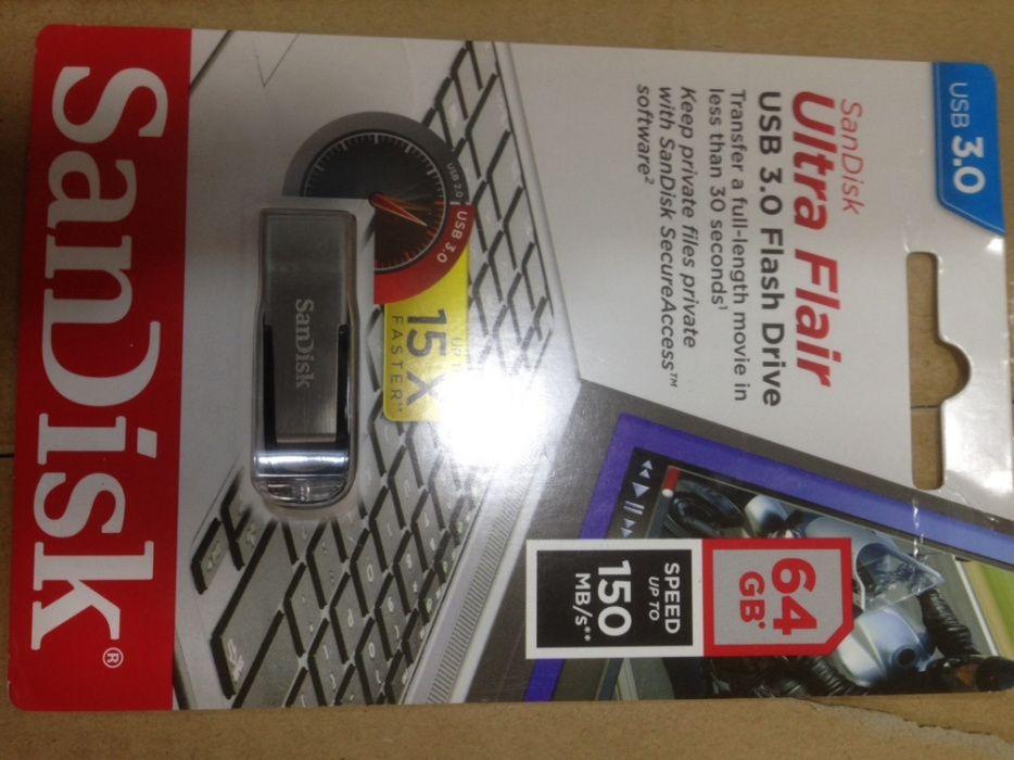 Flash 64gb 3.0 150Mb/s sandisk