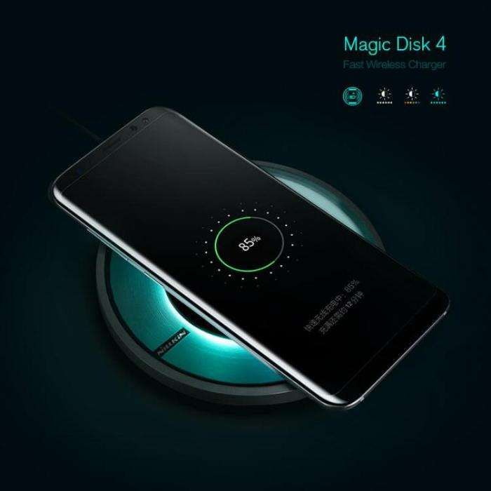 Incarcator QI Wireless Nillkin Magic Disk 4 Samsung 6,7,8 Iphone 8, X