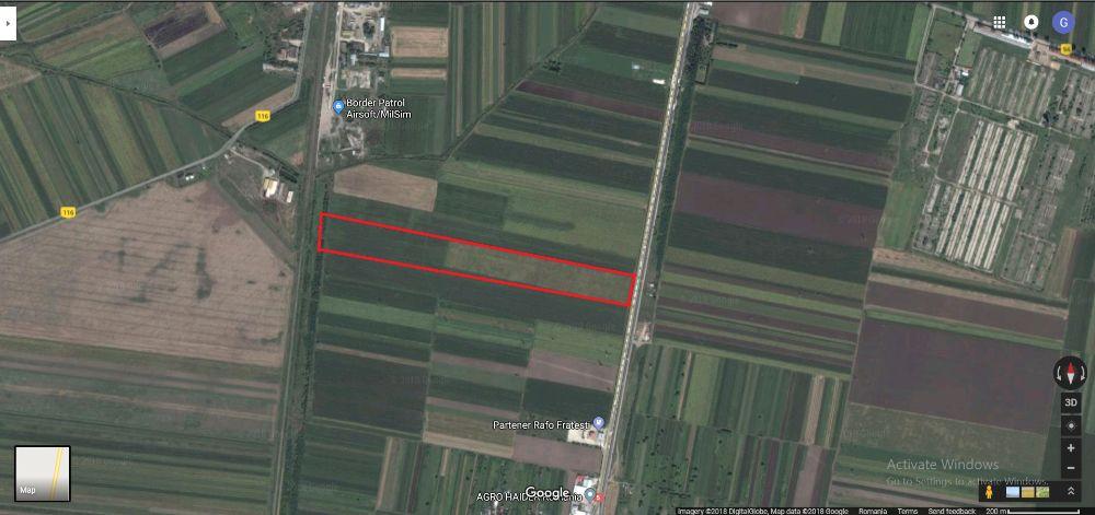 Vanzare  terenuri agricol  12 ha Giurgiu, Remus  - 0 EURO
