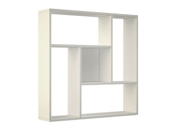 Бяла етажерка-75х20х77 см.