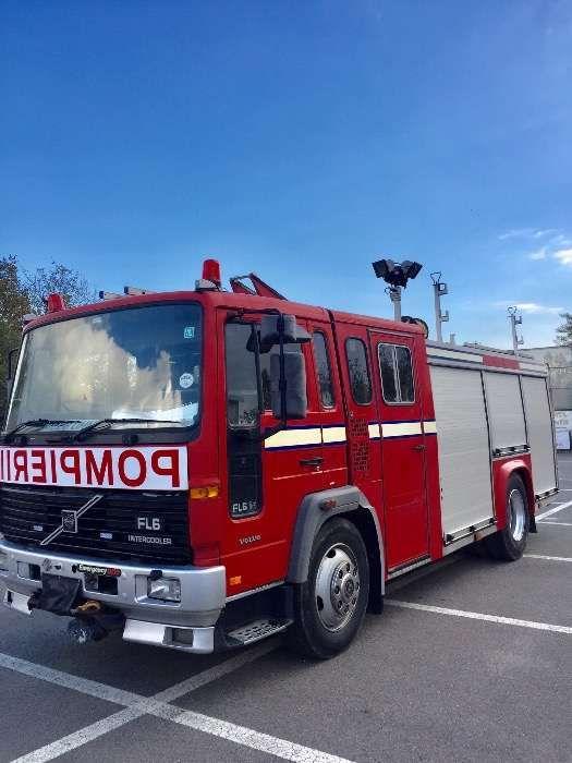 Masina de pompieri de inchiriat