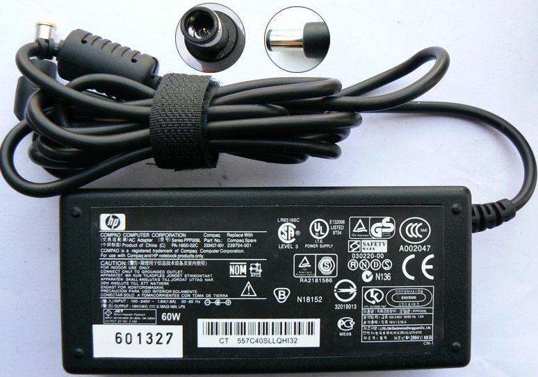 Блок питания зарядное устройство для ноутбука HP Aser Dell Asus Lenovo