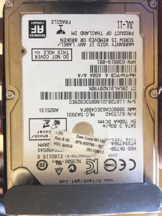 Disco duro 640GB SATA