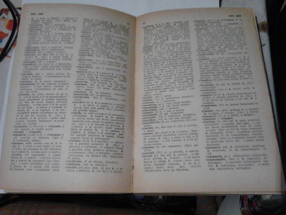 dicționar latin - roman, 1966 Iasi - imagine 4