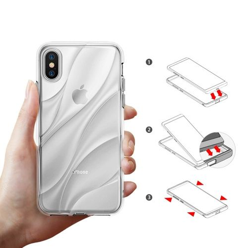 Husa Iphone X Ringke tpu Transparent