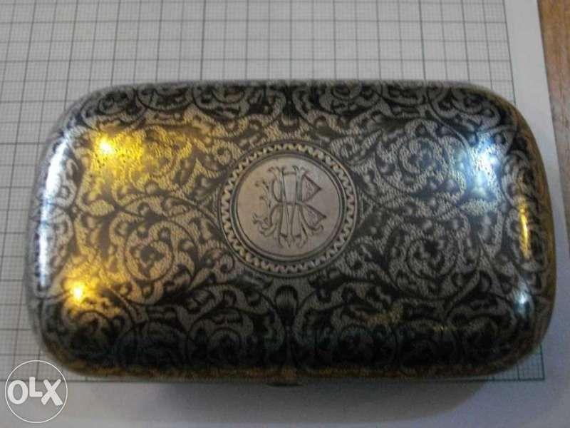 Табакера сребърна - 108,9 гр.