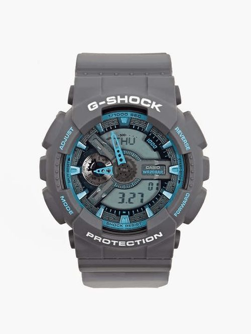 Ceas SPORT Casio G SHOCK GA110 Dark Grey/Cyan - ORIGINAL 100%