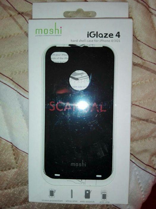 Гръб за Iphone 4 / 3GS- moshi Case, кейс