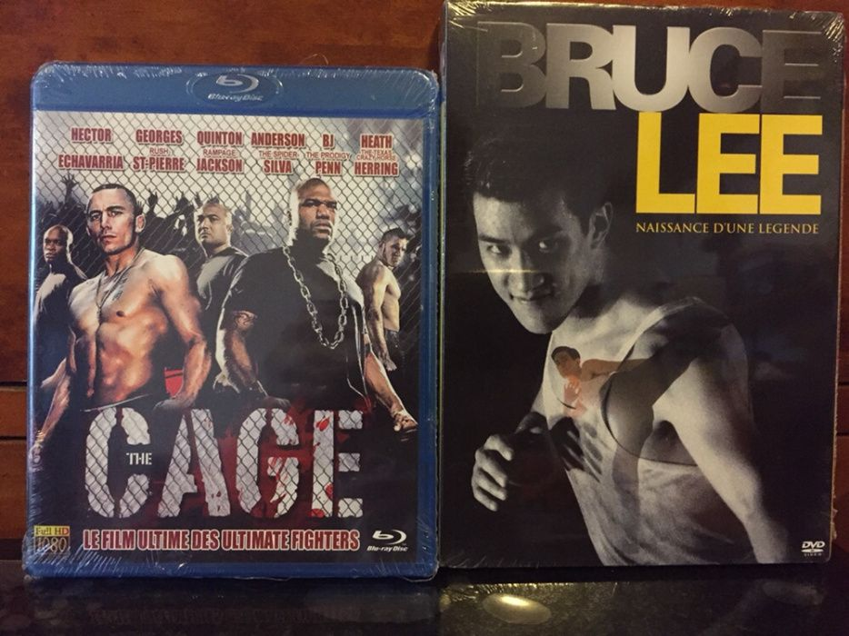 BD+dvd ; The Cage ;
