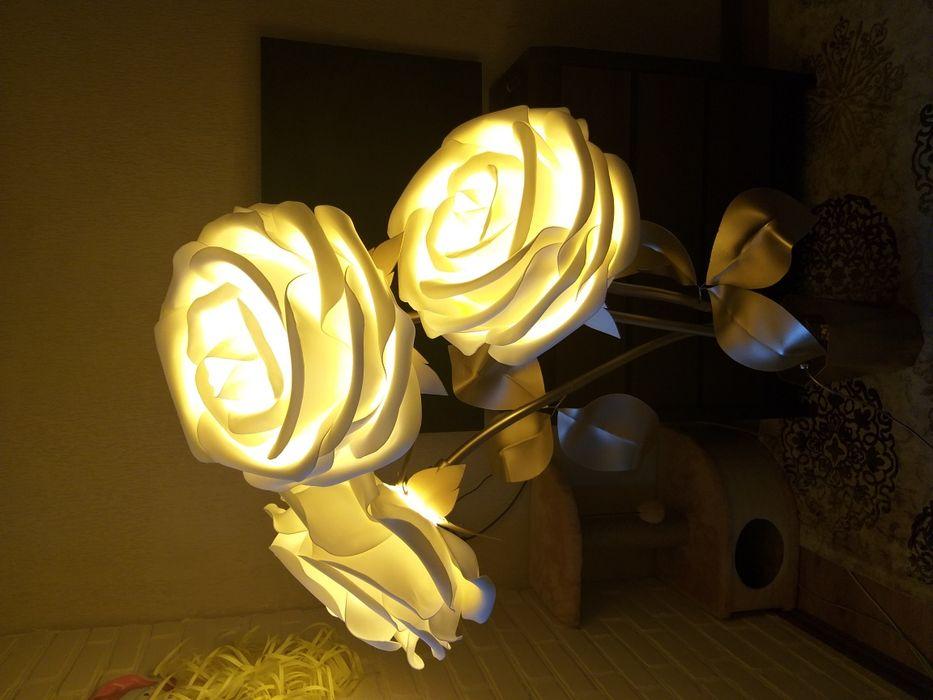 Светильники в в виде розы