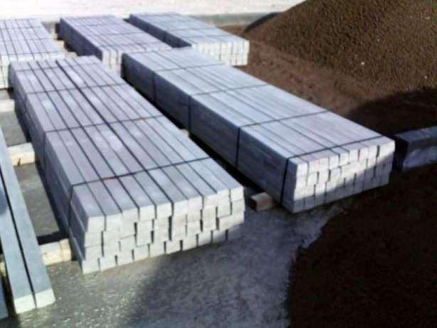 Stalpi pentru gard facuti din beton - Livrare peste tot in tara
