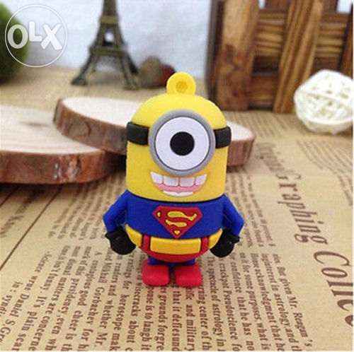 Stick USB 2.0 8Gb nou - Minion Superman