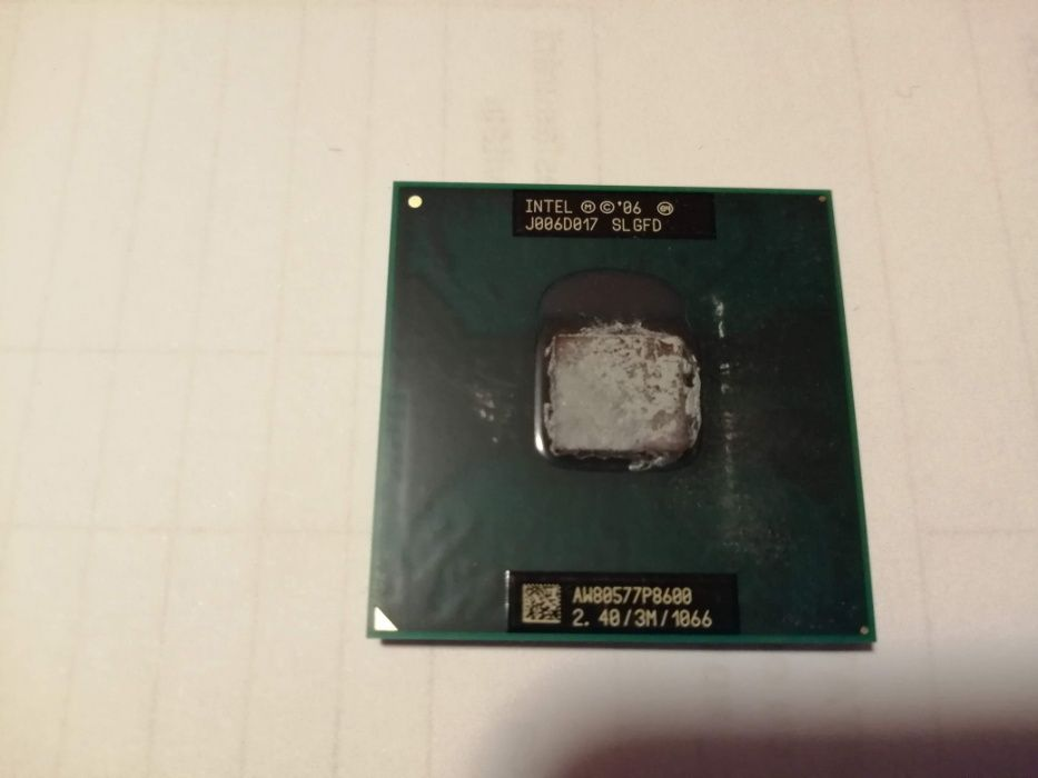 Intel core2 duo p800 2,40Ghz, 1066fsb laptop