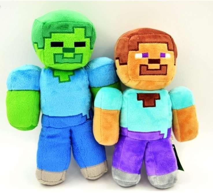 Minecraft de plus set 2 bucati