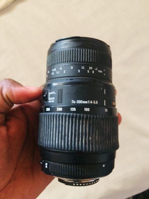 Vendo lente Sigma 70-300mm