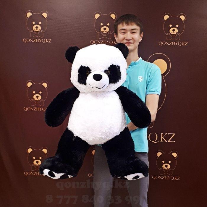 Плюшевый мишка медведь мягкая игрушка Панда с доставкой по Алматы