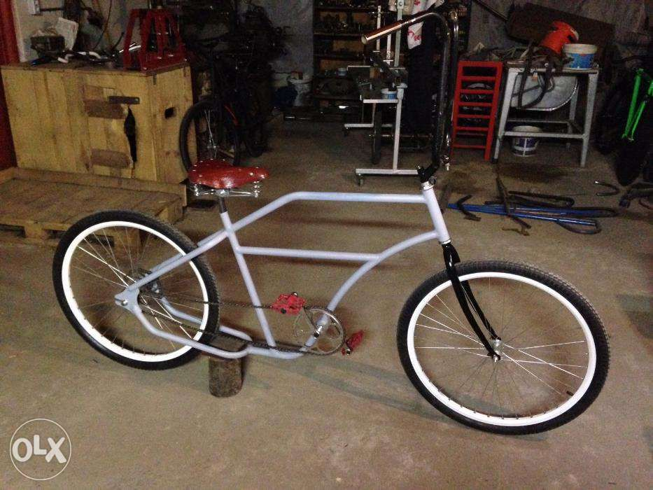 Lowrider Bike Custom- Frame _ Bike_Boardtracker Style