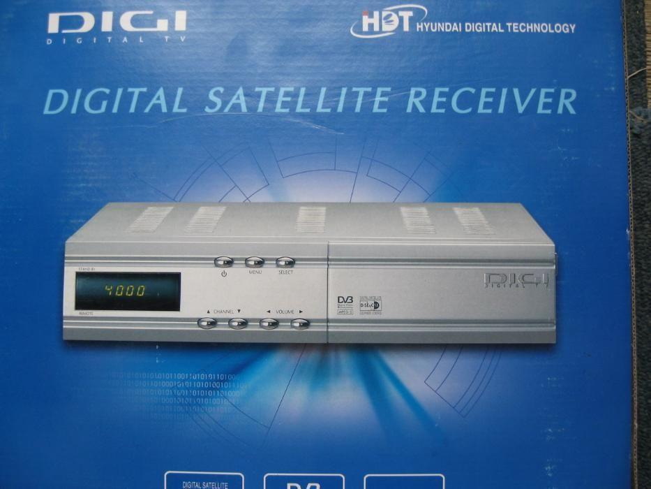 HYUNDAI DIGI, Digital Satellite Receiver, nou, la cutie, telecomanda