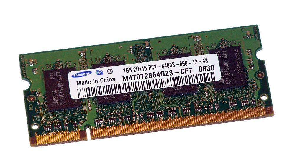 Memorii RAM 1GB DDR2 800Mhz PC2-6400S Laptop SO-DIMM NOI!