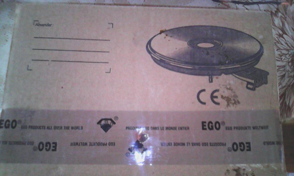 Plita electrica EGO, 2600W, 230V, produs nou Stefanestii Noi - imagine 4