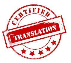 Tradução Certificada de Chinês/Português, Vice-versa