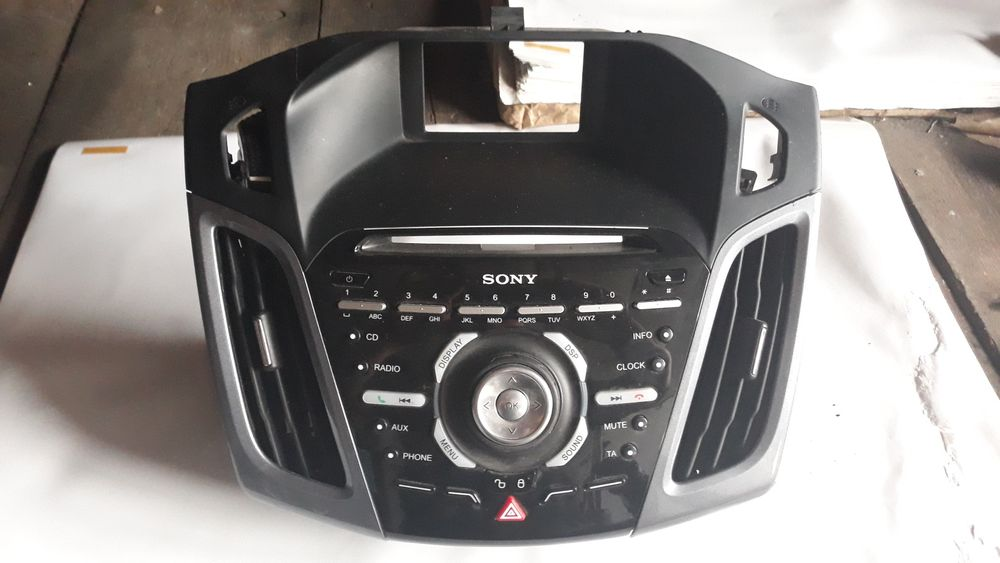Cd player ford focus 3