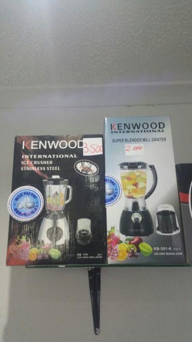 Liquidificadores da marca kenwood super modernos novos com garantia