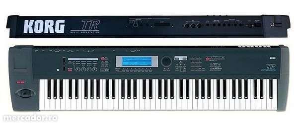 Sintetizator Korg TR76 - 76 clape - Music Workstation