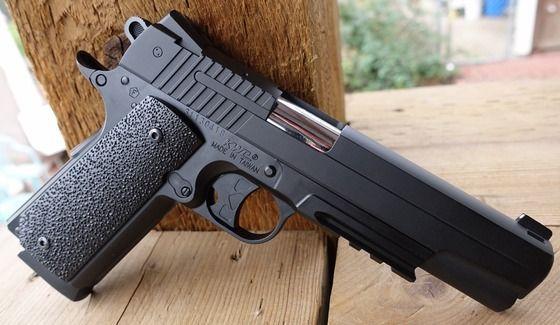 FULL METAL!! Pistol airsoft CU AER COMPRIMAT - Bonus: 5 Butelii Co2gaz