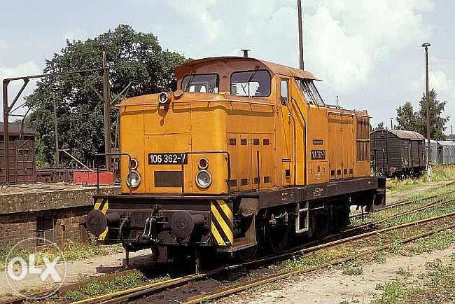 Бдж серия 52 / Piko Br106/ Пико маневрен локомотив Дб Бр106