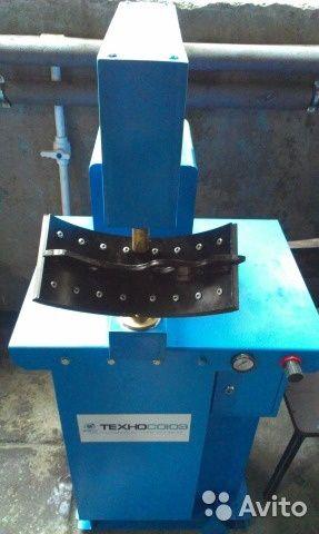 Наклёпка колодок диск сцепления расточка барабанов