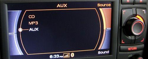 AUX Audi RNS-E Bluetooth