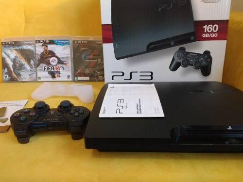 Playstation 3 novo a venda