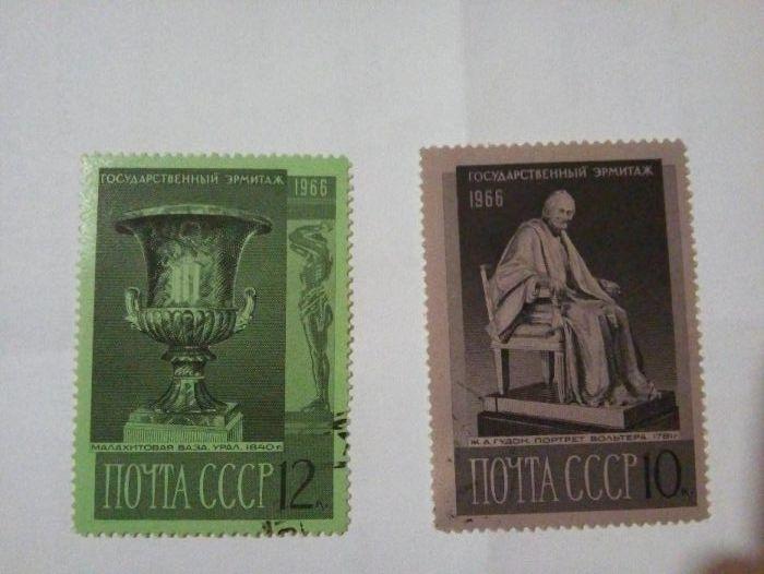 Продавам марки СССР- 1966г.