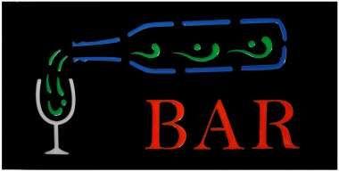"""Vand Reclama-Panou cu Leduri """"BAR""""; dimensiuni: 48x24x3,8 cm 100 Lei"""