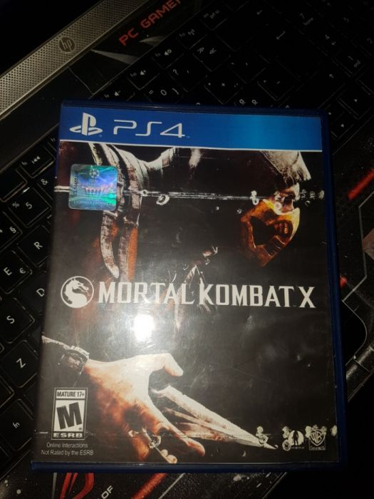 Mortal Kombat X ps4 como novo