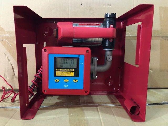 Pompa transfer motorina 12v cu contor digital si filtru motorina