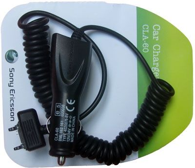 Incarcator auto Sony Ericsson