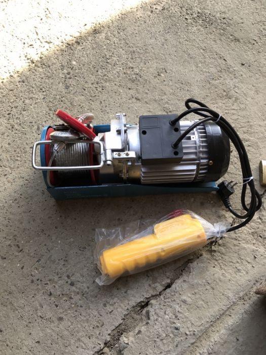 Troliu electric/Macara electica/Electropalan 150/300 kg (cablu 20M)