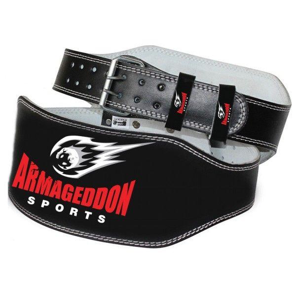 Кожен фитнес колан 15 см Armageddon Sports