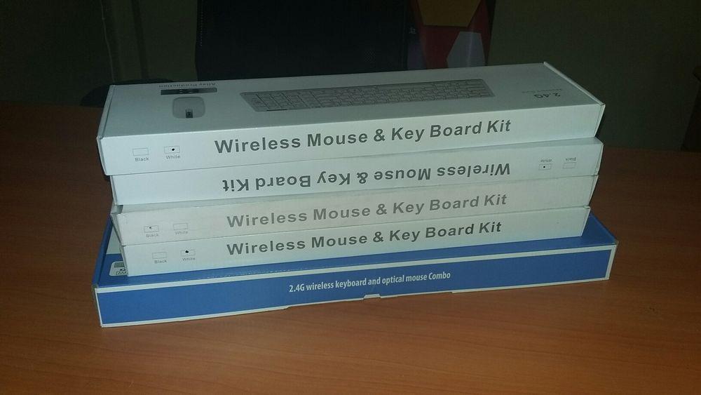 Kit de teclado e Mouse wireless sem fio Maputo - imagem 5