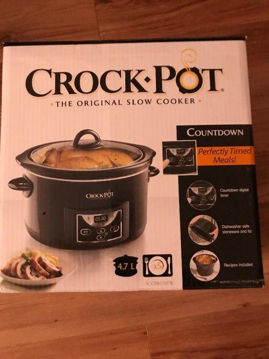 Slow cooker Crock-Pot 4.7 л Уред за бавно готвене Функция запазване н