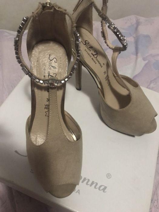 Sandale de ocazie banchet elegante din piele naturala Benvenuti